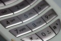 Keypad 2. A closeup of a keypad on a mobile phone Royalty Free Stock Photo