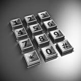 keypad Image libre de droits