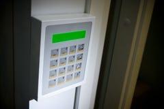 Keypad. Close up image of a Security keypad Stock Photography