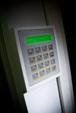 Keypad. Close up image of a Security keypad Royalty Free Stock Images