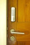 Keypad Door Lock - Stock Image Royalty Free Stock Photography