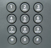 Keypad for IP Phone Royalty Free Stock Photo