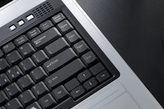 Keypad of laptop Royalty Free Stock Photos