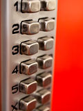 Keypad lock Royalty Free Stock Photos