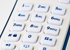 Keypad phone Stock Images