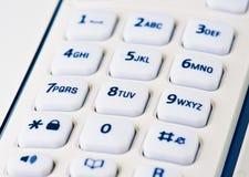 Keypad phone Stock Images
