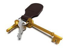 Keyring Royalty Free Stock Images