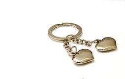 Keyring encantador del corazón Foto de archivo libre de regalías