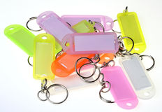 Keyring plate Stock Images