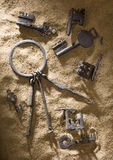 Keys 1. Keys archaeological territory of Russia Royalty Free Stock Photo