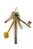 Keys. Bunch of keys, see more images in my portfolio Royalty Free Stock Photography