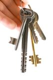 Keys. Bunch of keys, see more images in my portfolio Royalty Free Stock Images