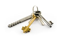 Keys. Bunch of keys, see more images in my portfolio Royalty Free Stock Image