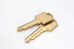 Keys. Pair of keys Stock Photo
