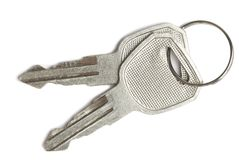 Keys. Isolated objects for your deesign and art-work Royalty Free Stock Image