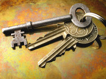 Keys. Bunch of Keys Stock Photography
