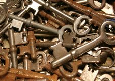 Keys. A lot of keys Stock Photography