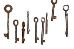 Keys. Old keys Royalty Free Stock Image