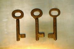 Keys. Old keys Royalty Free Stock Photo