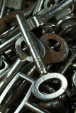 Keys for access Royalty Free Stock Photos