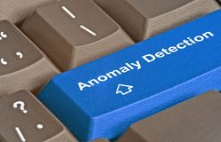 Keys for  Anomaly Detection Stock Images