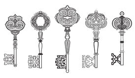 KEYS Antique Collection Set 1 Stock Photo