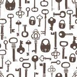 Keys background Stock Photos