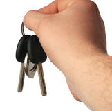 Keys from the car Stock Image