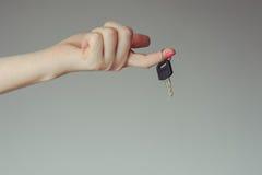 Keys from the car Stock Photo