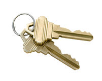 Keys with Clipping Path Stock Images