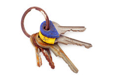Keys found out. Royalty Free Stock Photo