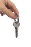 Keys in hand Royalty Free Stock Images