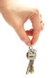 Keys On Hand Royalty Free Stock Photo