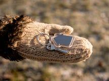 Keys in hand Stock Image