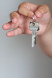 Keys in hands Royalty Free Stock Photos
