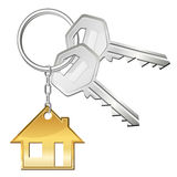Keys for home. Two keys for your home vector illustration