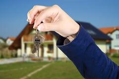 Keys from home Stock Photos