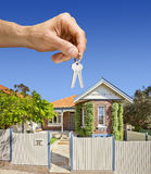 Keys Home House Hand Property Stock Photo