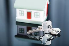 Keys with house. Stock Image