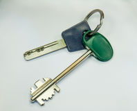 Keys from the house. Bundle. Two Stock Image