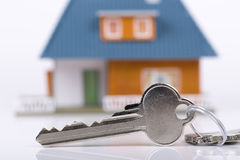 Keys and house Stock Photography