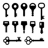 Keys icons Royalty Free Stock Images