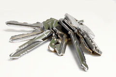 Keys isolated Stock Images
