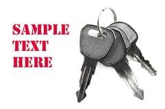 Keys isolated Royalty Free Stock Image