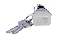 Keys isolated Stock Photo