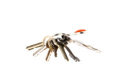 Keys isolated on white Royalty Free Stock Photos
