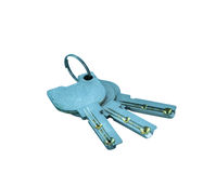 Keys isolated Stock Photo