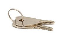 Keys are isolated Stock Image