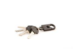Keys isolated on white background. Royalty Free Stock Image