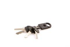 Keys isolated on white background. Royalty Free Stock Photography